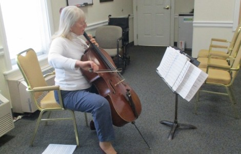 Sunday Afternoon Cello Performance