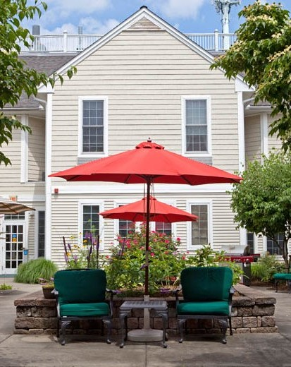 East Village Place Assisted Living Patio