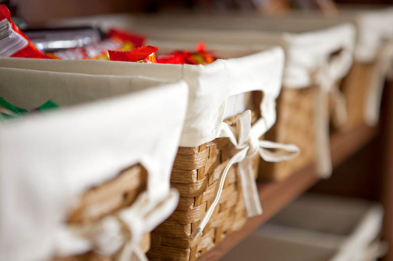 Personal Memory Care Pantry Baskets