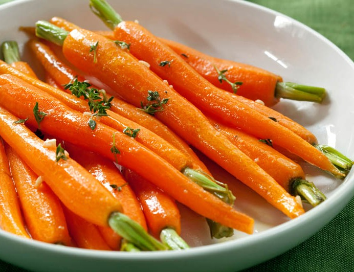 A Serving of Baby Carrots