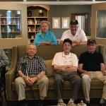 Some of our veterans here at East Village Place before the barbeque.