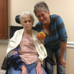 Barbara and Judy with their cute little creation!