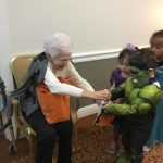 Betty's candy corn was a big hit!