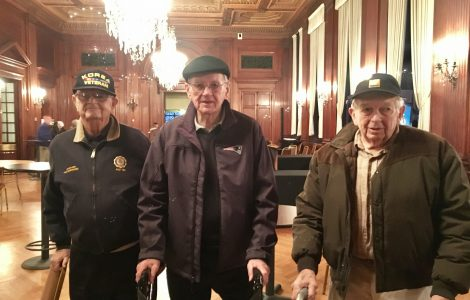 East Village Place Veterans Attend the 215th Army Band Performance at Symphony Hall!