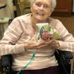 Dorothy chose a red & green polka dot ribbon for her jar!