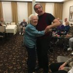 Shirley couldn't contain her excitement when John asked her to dance!