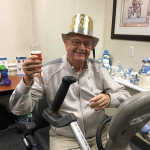 CHEERS, JIM! That's one way to start a New Year's Resolution!