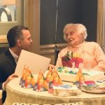 Massachusetts State Representative Brian Ashe Commemorates East Village Place Resident on her 105th Birthday!