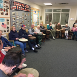 We had such a big group for drumming!