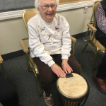 Shirley said this petite drum was the perfect size for her!