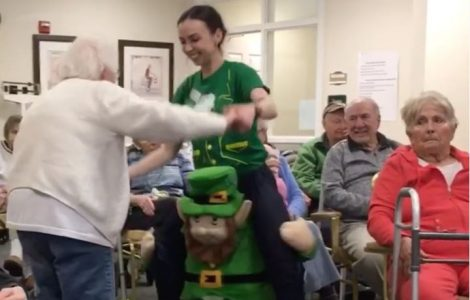 Lots of Laughter at the Saint Patrick's Day Celebration!